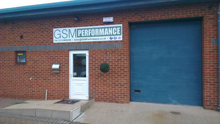 The GSM performance showroom and fitting centre