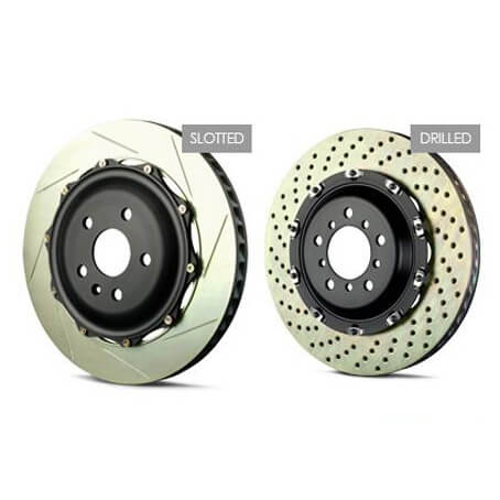 Brembo GT Rear 2 Piece Disc Rotors